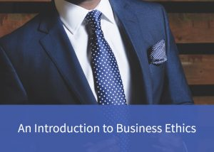 Button to an introduction to business ethics page