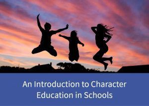 Button to an introduction to character education in schools page